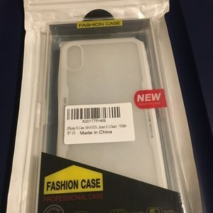 Accessories - 🖤 New iPhone X Clear Phone Case